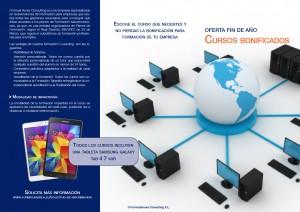 Catálogo de cursos. Oferta fin de año